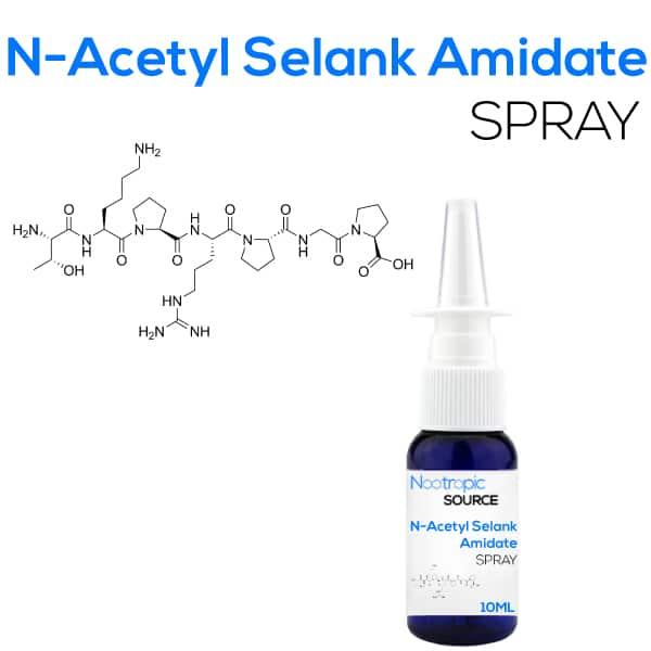 N-Acetyl Selank Amidate Spray