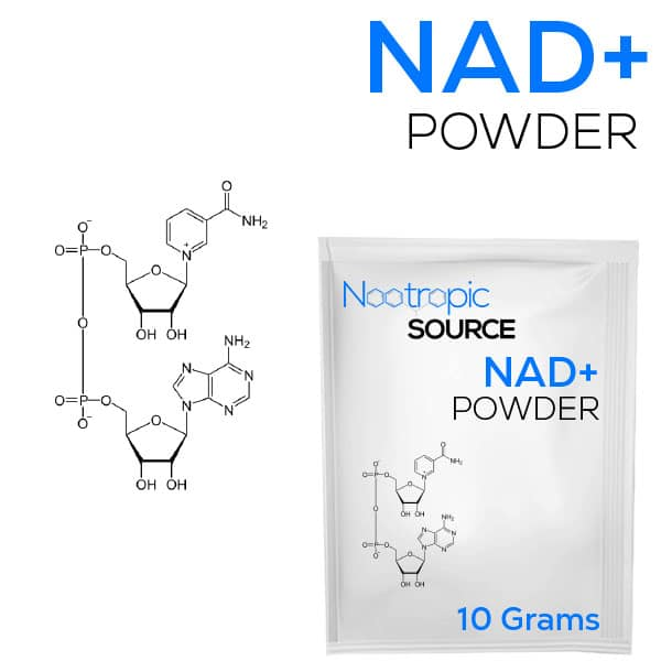 buy 10 grams of NAD+ (Nicotinamide Adenine Dinucleotide) from Nootropic Source