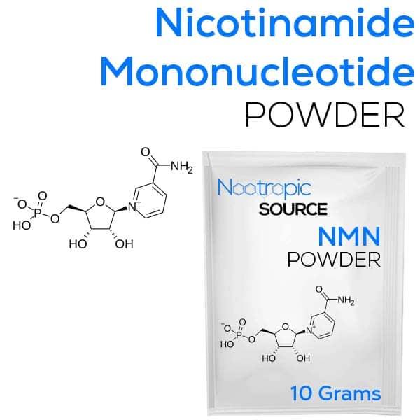 buy 10 grams Nicotinamide mononucleotide NMN Powder from nootropic source