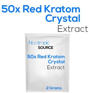 50x Red Kratom Crystal Extract Powder