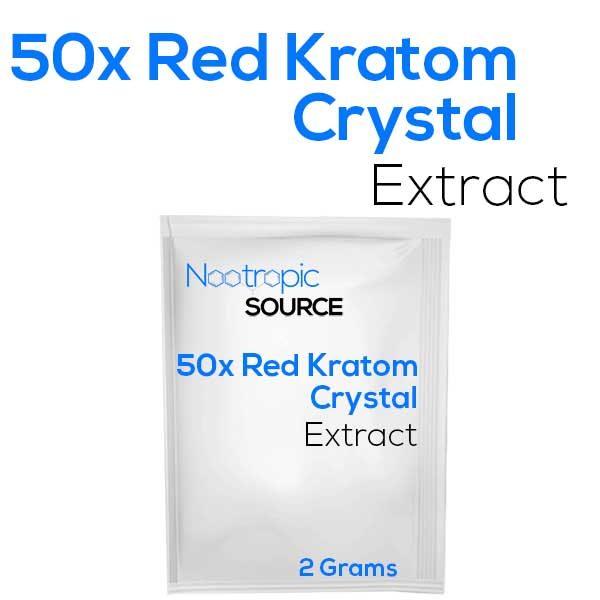 50x red kratom crystal extract powder
