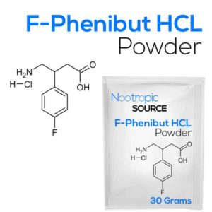 F-Phenibut (Fluorophenibut) HCL Powder