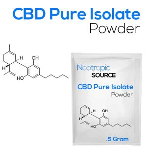 CBD Pure Isolate Powder 99.9% (No THC)