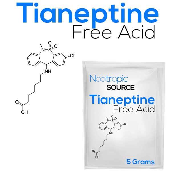 tianeptine free acid