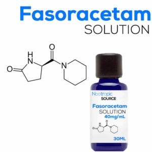 Fasoracetam 40mg x 30ml