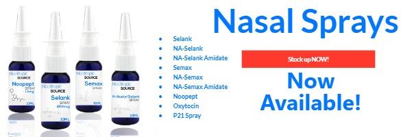 nasal sprays